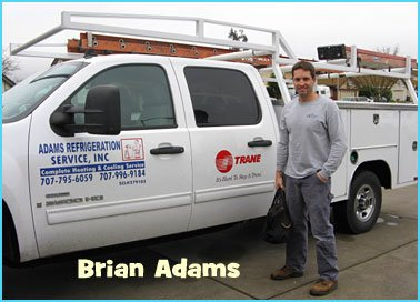 Brian Adams Heating and Air Conditioning Professional