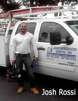 Josh Rossi Heating and Air Conditioning Professional